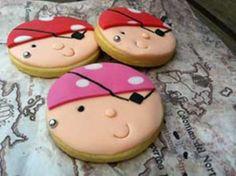 Galletitas de piratas para desayunar en Carnaval Biscotti, Painted Rocks, Sugar, Cookies, Desserts, Kids, Food Ideas, Carnival, Pirate Cookies