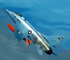 North American F-100 Super Sabre  My father flew these - and the F-86's