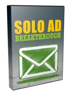 Solo Ad Breakthrough - Video Series (PLR)