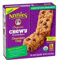 Steward of Savings : Annie's Organic Granola Bars, ONLY $0.90 each at Target!