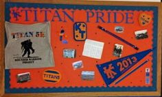 79 best Classroom school ideas images on Pinterest   School     Middle School Bulletin Board   Show off your school s pride by showcasing  special events over the