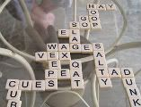 Boardless Scrabble for vocabulary-building practice!