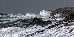 Philip Plisson : Coup de vent entre Belle Ile et Quiberon / 08 04 2013