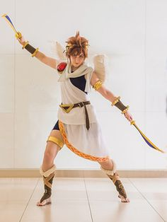Be Good Siera-Butt Making of Pit (Kid Icarus Uprising/Smash Bros. BRAWL) & Pit Cosplay (2nd) from Kid Icarus | Halloween Costumes | Pinterest ...