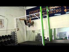 Monkey Bar Upside Down Crawls - Sydney Strength & Conditioning - YouTube
