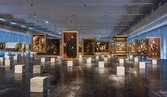 Concreto e vidro: Os cavaletes de Lina e um novo jeito antigo de exibir arteb