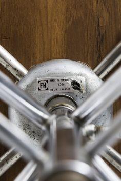 Arne Jacobsen office chair model 3117 in teak at Studio Schalling