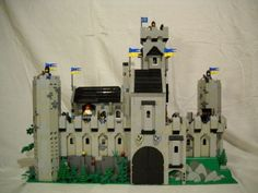 Black Falcon Mountain Fortress: A LEGO® creation by Peter deYeule : MOCpages.com