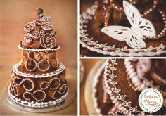 Emeletes- diós varázs Soul Food, Goodies, Sweets, Pretty, Desserts, Christmas, Wedding, Ideas, Pastries