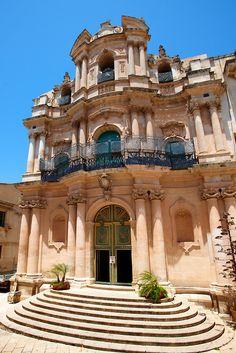 Baroque church of St John, Scicli, Sicily