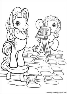 My Little Pony Coloring Page Book PagesColor