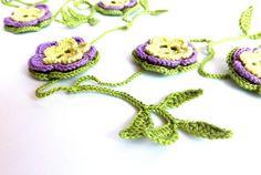 Crochet garland home decoration summer decor