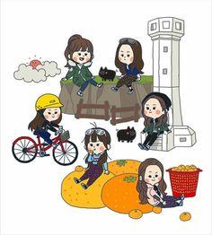 Character Art, Character Ideas, G Friend, Kpop Fanart, Korean Artist, Chanyeol, Chibi, Haha, Idol