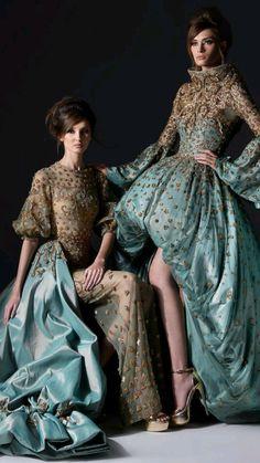 Runway Fashion, High Fashion, Love Fashion, Fashion Design, Vintage Fashion, Beautiful Gowns, Beautiful Outfits, Fairytale Fashion, Haute Couture Fashion
