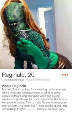 18 Funny Weird and Very Wild Tinder Profiles: 18 of the Weirdest, Wildest, Funniest Tinder Profiles Ever
