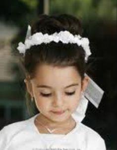 flowergirl hair | Flower girl hair