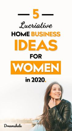 Are you searching for best home business ideas for women? Don't have any ideas for a new business? Then look at these 5 lucrative home business ideas now! Online Side Jobs, Online Jobs For Moms, Online Work From Home, Work From Home Tips, Make Money From Home, Way To Make Money, Make Money Online, Own Business Ideas, Best Home Business