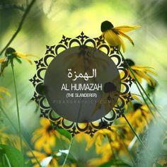 Al Humazah Surah graphics