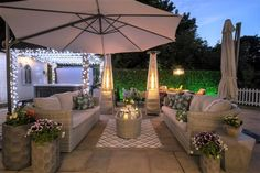 The garden is stunning in the evenings with its dawn til dusk mood lighting and patio heaters. The garden is stunning in the evenings with its dawn til dusk mood lighting and patio heaters. Shade Umbrellas, Patio Umbrellas, Patio Ideas Ireland, Outdoor Rooms, Outdoor Living, Luxury Holiday Cottages, Garden Yard Ideas, Patio Heater, Backyards