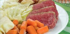 Slow Cooker Corned Beef and Cabbage - Good for St. Patty's day or anytime!  www.GetCrocked.com