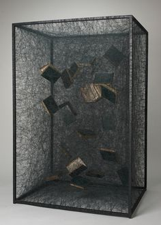 State of Being (1820 edition Goethe books), 2012 by Chiharu Shiota