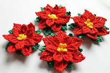 1000+ images about Christmas crochet flowers on Pinterest ...