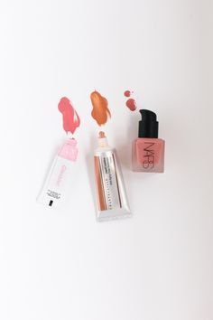 Sporting a Flushed Glow This Summer With Some Liquid Blush Favorites.