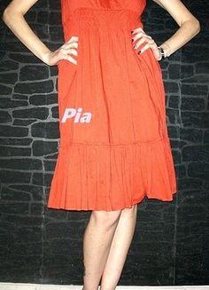 Kaufe meinen Artikel bei #Kleiderkreisel http://www.kleiderkreisel.de/damenmode/lange-kleider/107124560-sommerkleid-36-orange-mit-tragern-vero-moda