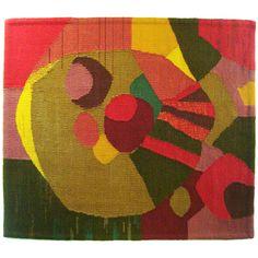 Antique and Vintage Tapestries - For Sale at Textile Tapestry, Tapestry Weaving, Textile Art, Wall Tapestry, Modern Tapestries, Weaving Textiles, 2d Art, Vintage Prints, Creative Inspiration