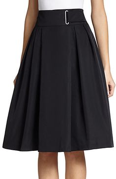 Faux Leather skirts Black 40s Skirt Casual Romantic Asymmetrical skirt with pockets Unique Pleated midi skirt