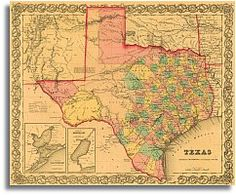 Map Of Texas Early 1800s.86 Best Texas Maps Images Republic Of Texas Texas Maps