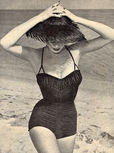Chic Beachwear ♥ 1950's