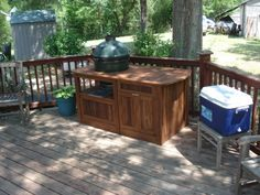 Large Big Green Egg Table Plans   Google Search