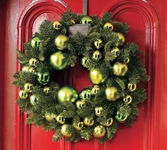 Image result for Christmas door wreath