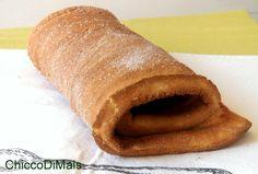 Pasta biscotto (ricetta base per rotoli dolci)