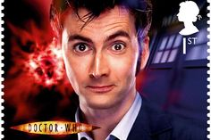 10th Doctor - Doctor Who 50th stamps - Imgur