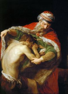 "Pompeo Batoni ""Return of the Prodigal Son"" 1773."