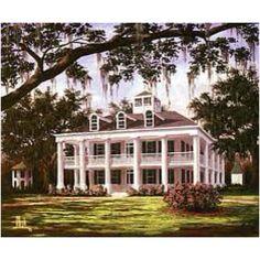 Southern plantation home...<3