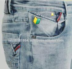 Good Job, Denim Jeans, Urban, Pockets, Skinny, Casual, Cotton, Pants, Men