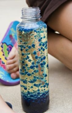 pintrest kids crafts | Crafts For Kids: A DIY Lava Lamp That's Hot On Pinterest