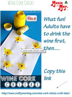 Springtime..,, Easter..  Because you drank some wine....