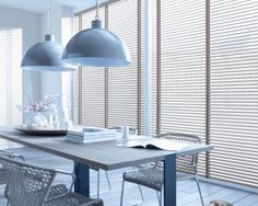 Projectstoffering - Canto Projectinrichting Dining Room, Dining Table, Tadelakt, Interior Decorating, Interior Design, Shutters, Blinds, Curtains, Contemporary