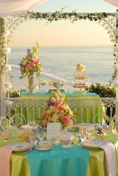 Spectacular...tea and the beach...