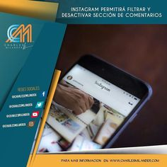Instagram permitirá filtrar y desactivar sección de comentarios. Visita para mas información  a http://ift.tt/1gXNWqh #charlesmilander #tecnologia #technology #smartphones #socialmedia #instagram #youtube #twitter #facebook #whatsapp #celulares #noticias