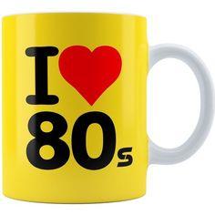 Caneca Personalizada I Love Anos 80 Mod 04