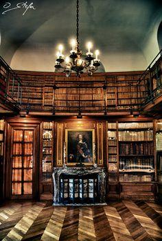 Château de Belœil library, Belgium.