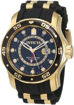 Invicta Men`s 6991 Pro Diver Collection GMT Black Dial Black Polyurethane Watch - Listing price: $695.00 Now: $149.99 + Free Shipping