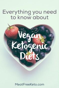 Everything You Need to Know About Vegan Ketogenic Diets