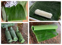 Indonesian Medan Food: Cara Membuat Lontong 2 (How to Make Rice Cake 2)