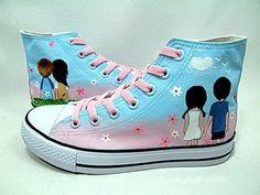 YESSTYLE: HVBAO- Happy Couple Sneakers